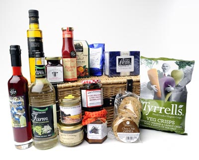 Vegetarian-hampers